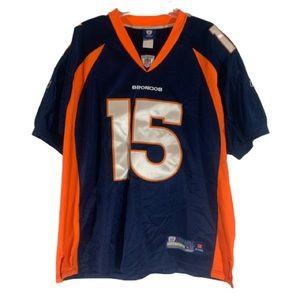 Reebok Denver Broncos Jersey #15 Tim Tebow